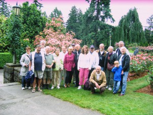 Group at Rose Garden